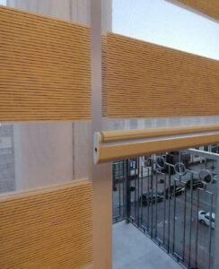 Рулонные шторы Clic Box Duo в собранном состоянии