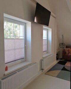 шторы плиссе с принтом фото 2