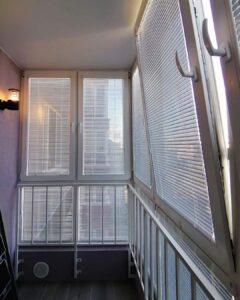 балкон перфорированные жалюзи 3