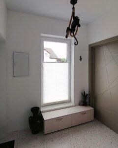 шторы плиссе для коридора 3