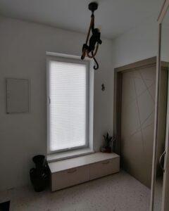 шторы плиссе для коридора 2